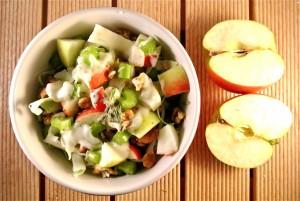 spitskoolsalade bleekselderij